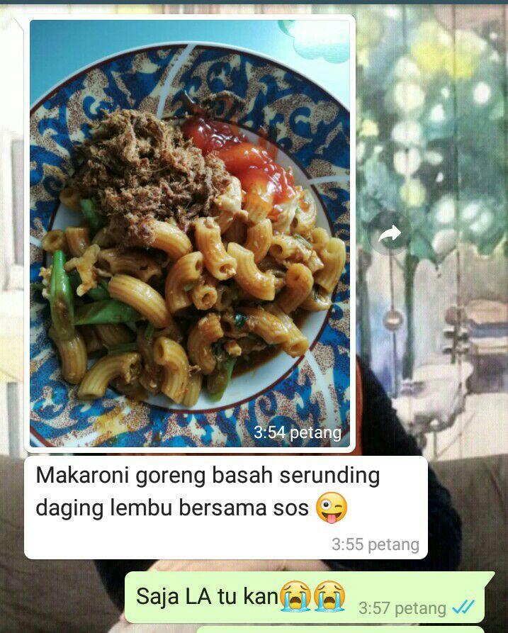 Testimoni Serunding Extra Pedas Makan Dengan Makaroni